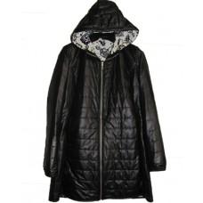 Piumino pelliccia nero - Ayfee