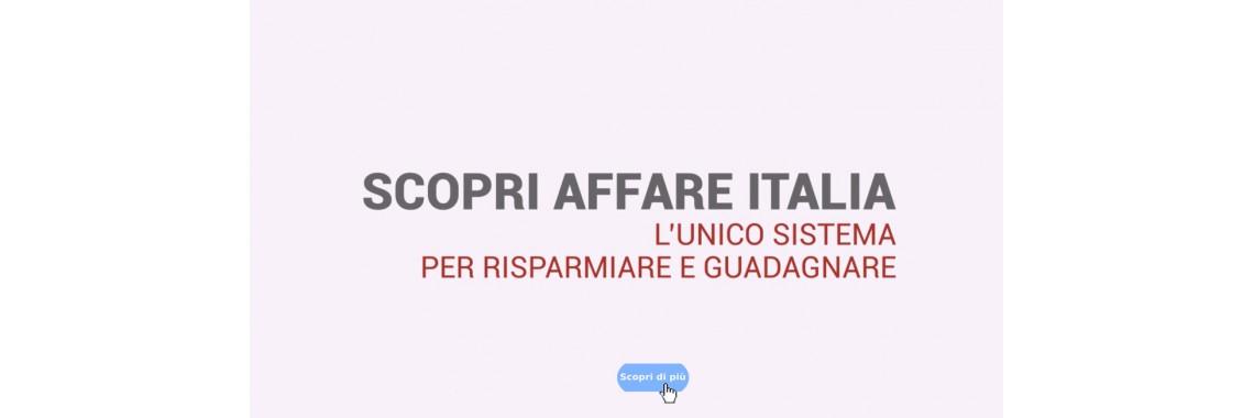 Scopri Affare Italia